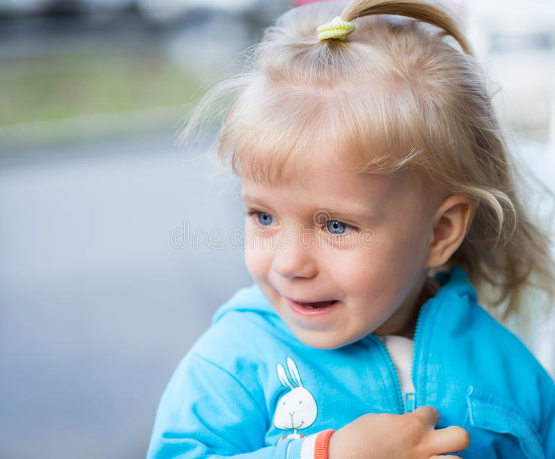 Portrait de bébé. photos libres de droits
