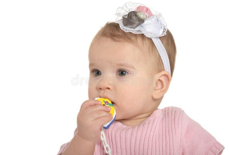 Portrait de bébé adorable photo stock