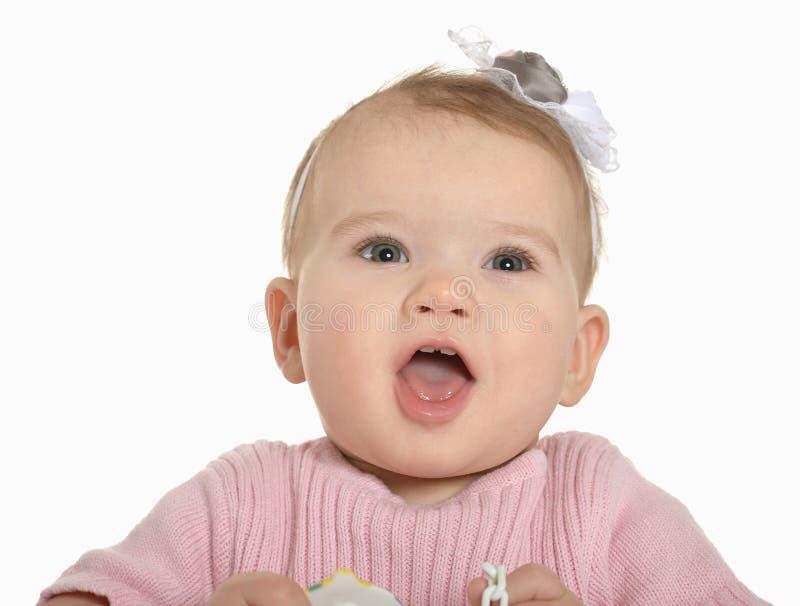 Portrait de bébé adorable images libres de droits