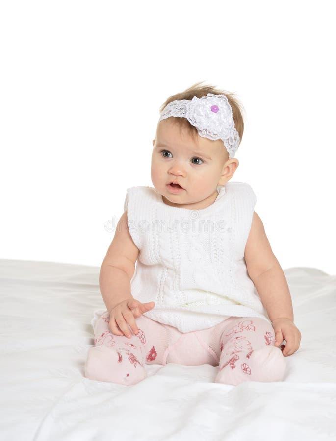 Portrait de bébé adorable image stock