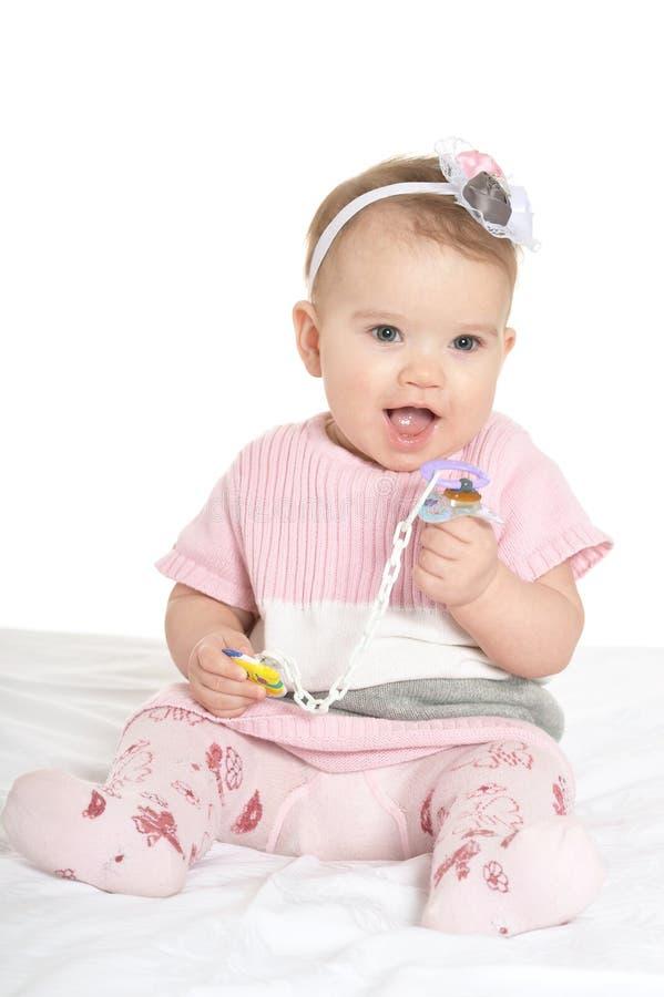 Portrait de bébé adorable photos libres de droits