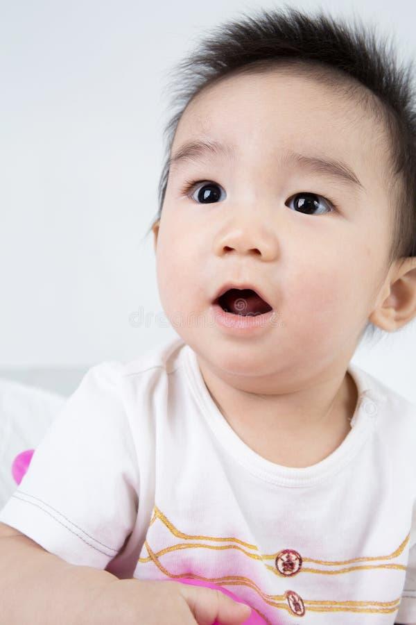 Download Portrait De Bébé Mignon Asiatique De Sourire Image stock - Image du garçon, adorable: 45368123