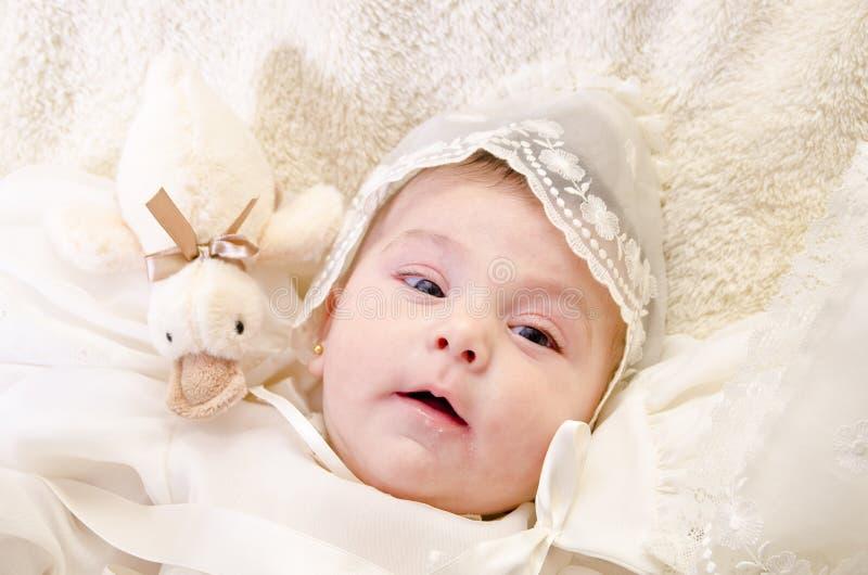 Portrait de baptême photographie stock