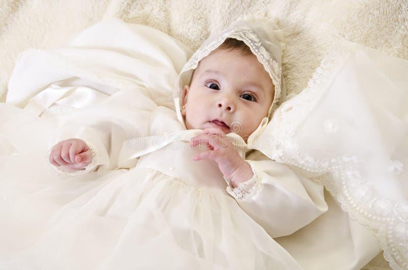 Portrait de baptême images libres de droits