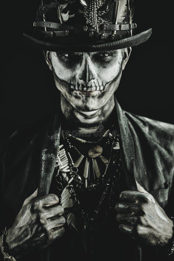 Portrait de Baron Saturday image libre de droits