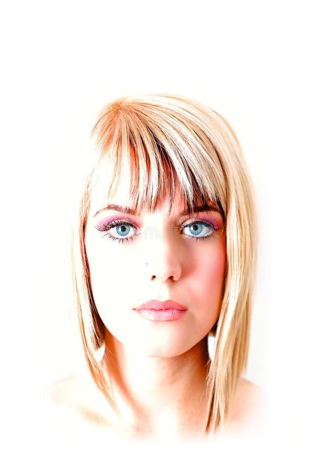 Portrait de beauté photo stock