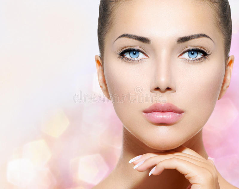 Portrait de beauté image stock