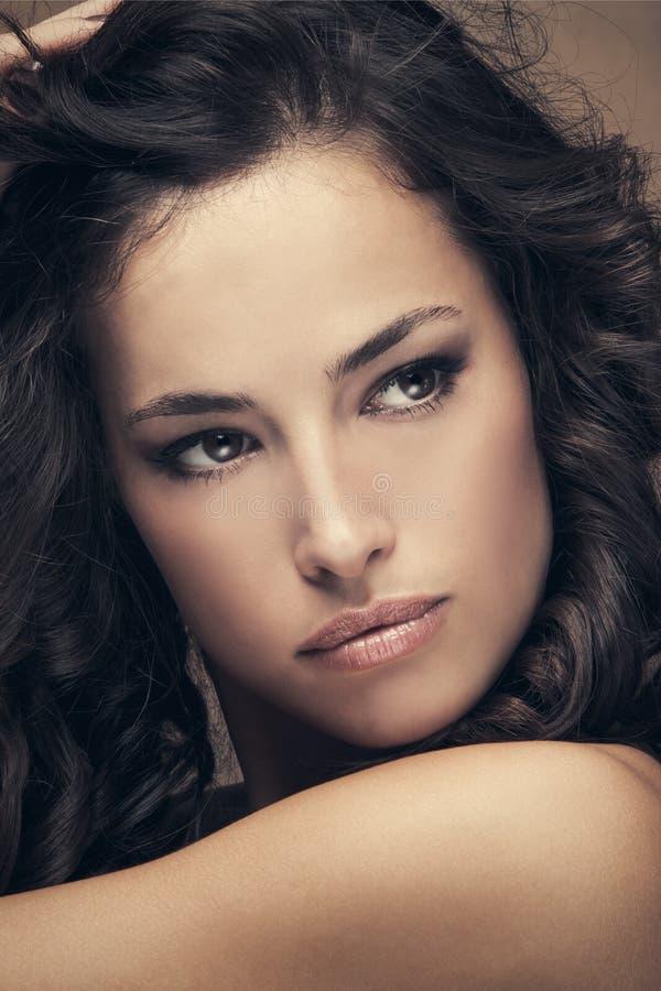 Portrait de beauté de femme images stock