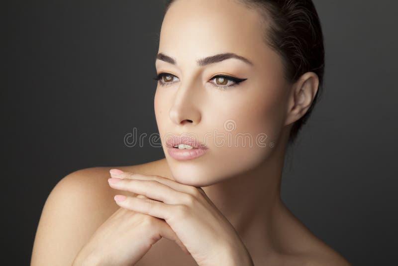 Portrait de beauté de femme image stock