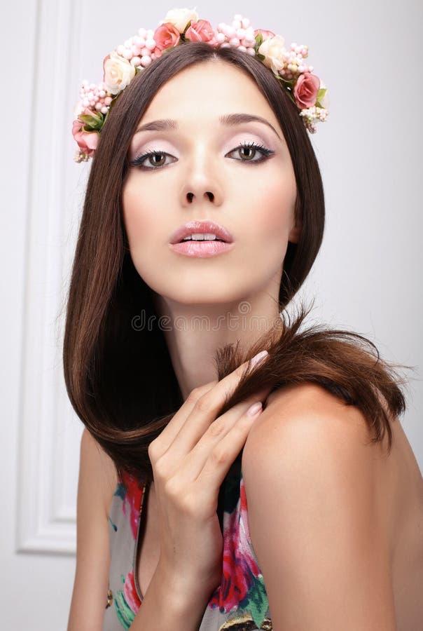 Portrait de belle fille image libre de droits