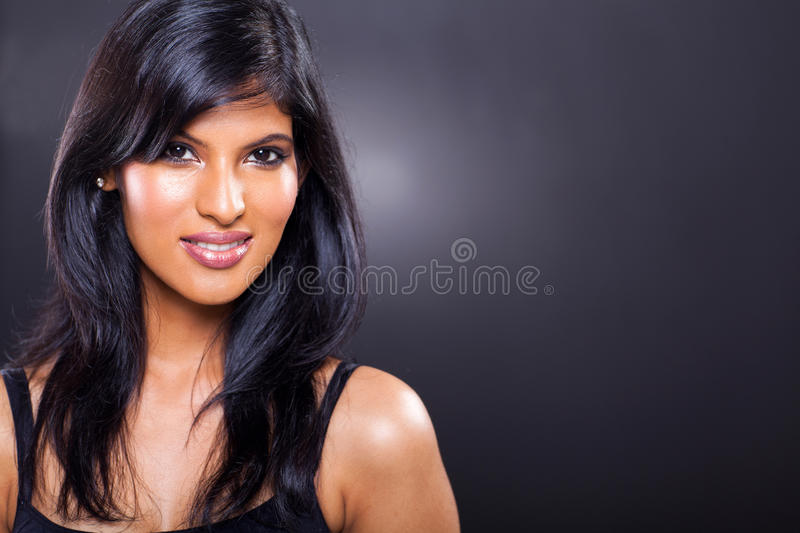 Belle femme indienne photographie stock