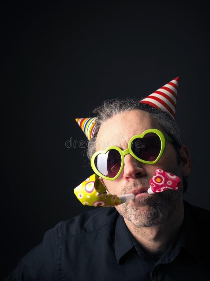 Portrait de carnaval ou d'anniversaire image stock