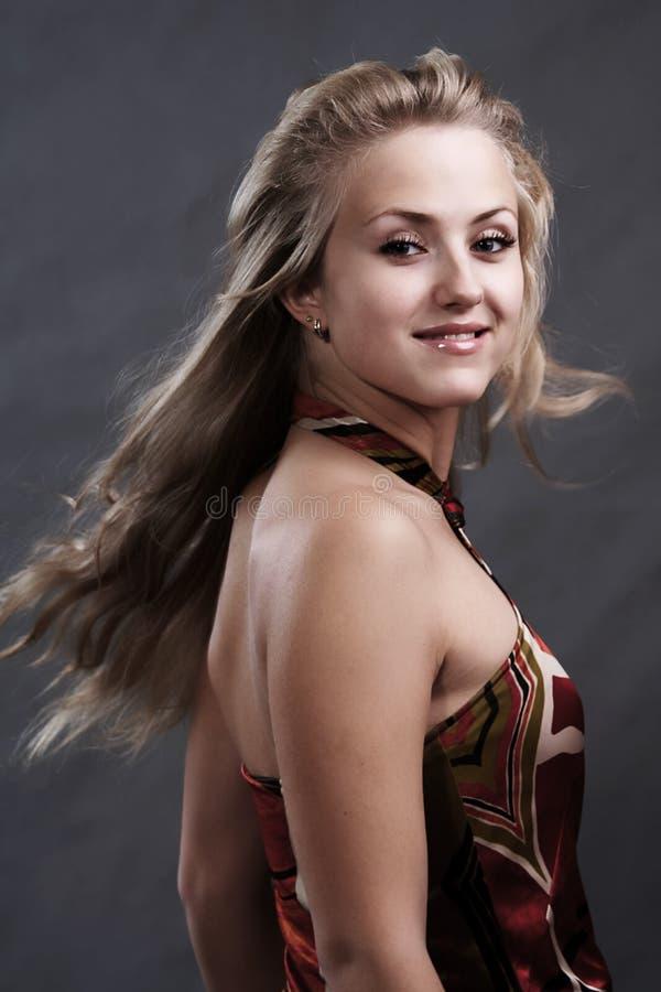 Portrait de femme blonde photos stock