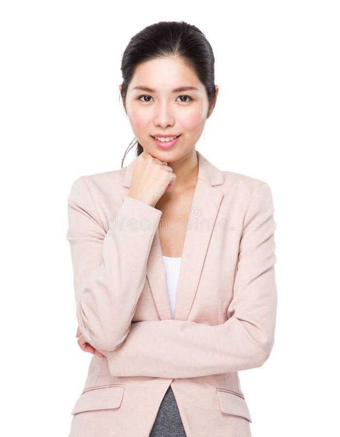 Download Portrait De Femme D'affaires Image stock - Image du femelle, découpage: 45365675