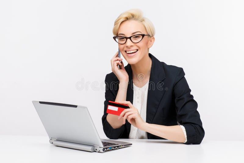 Portrait de femme d'affaires photos libres de droits