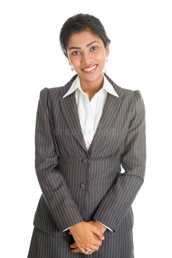 Portrait de femme d'affaires noire image libre de droits