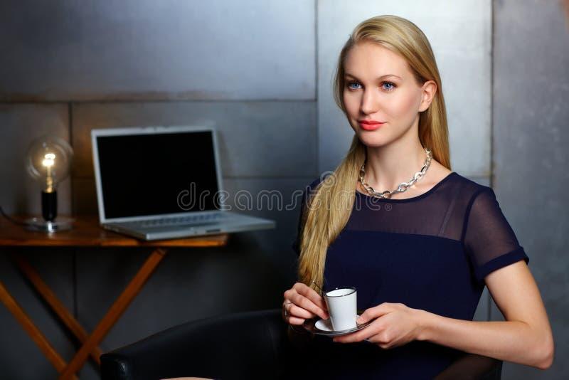 Portrait de femme d'affaires nordique image libre de droits