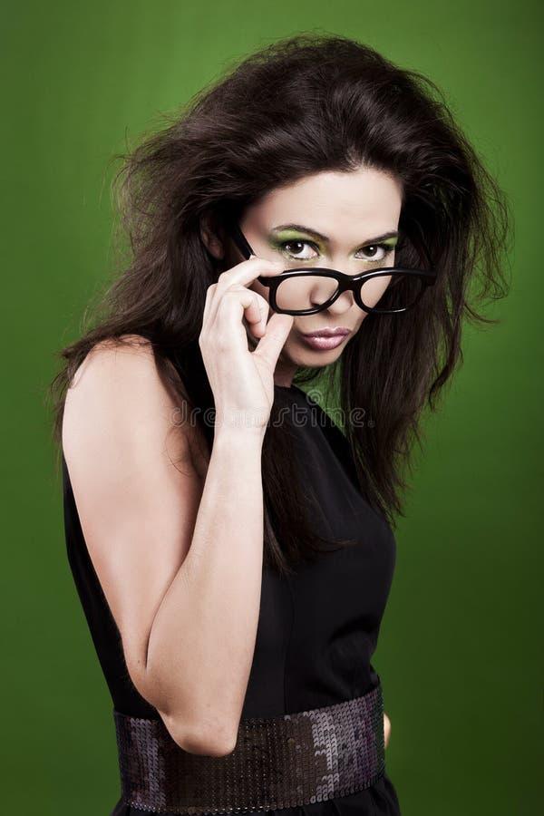 Portrait de femme de mode images stock