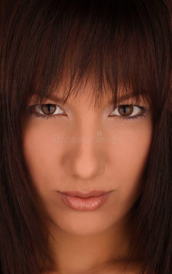 Portrait De Fille De Darkhair Photos Stock