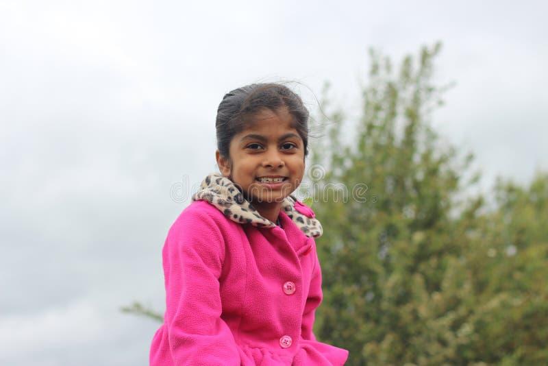 Portrait de fille de Preety images libres de droits