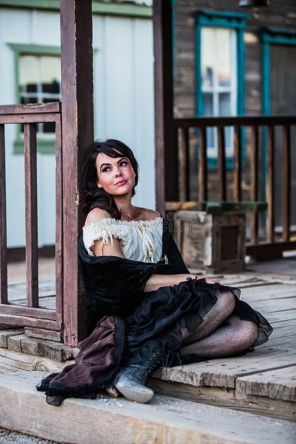 Portrait de fille de salle photo libre de droits