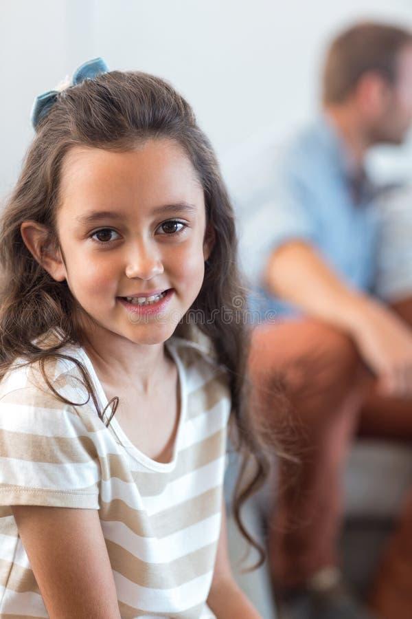 Portrait de fille innocente images libres de droits