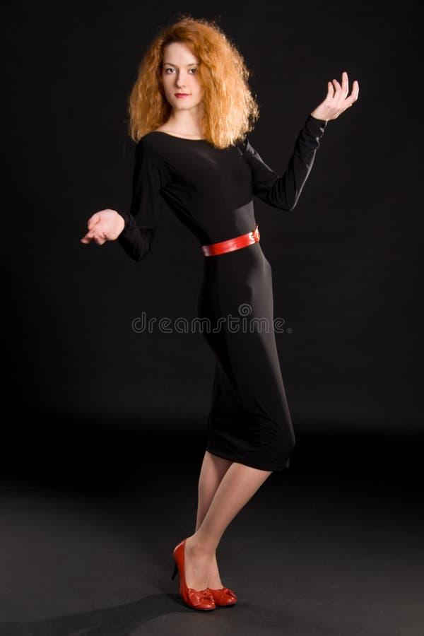 Portrait de fille rousse image libre de droits
