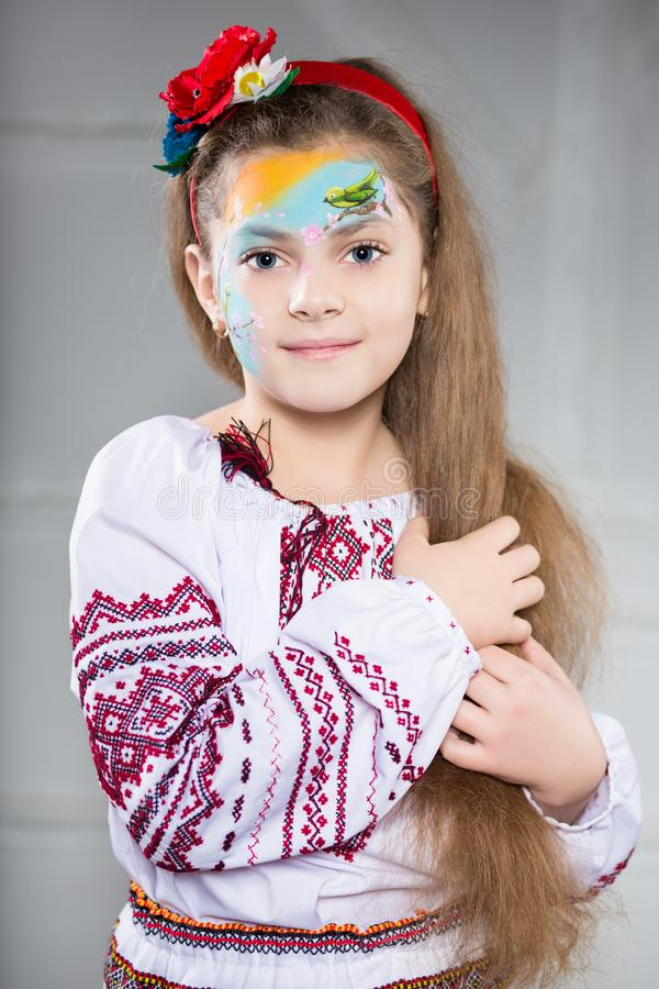 Portrait de fille ukrainienne photo libre de droits