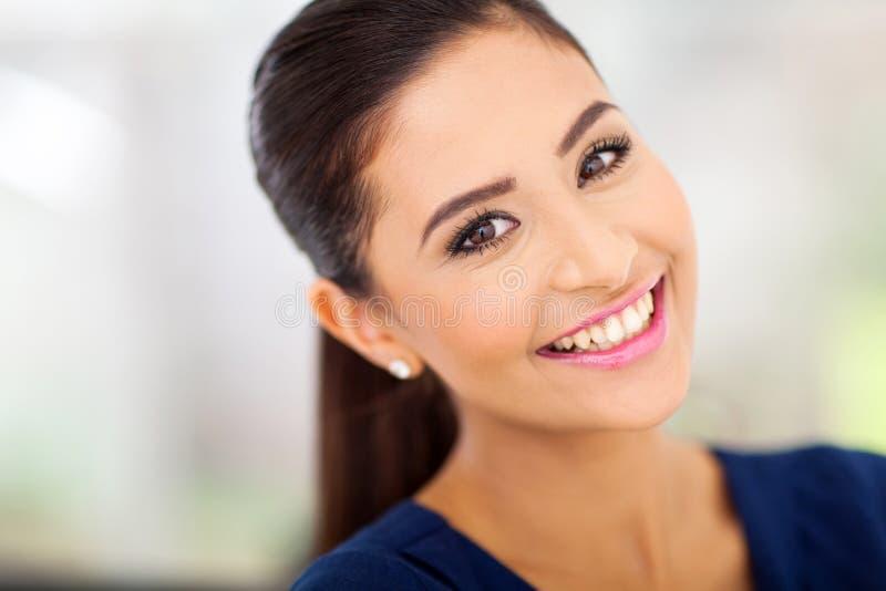 Femme indienne heureuse photos libres de droits