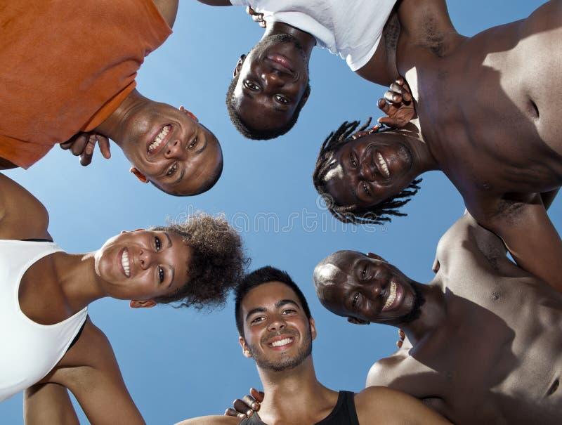Portrait de groupe images libres de droits