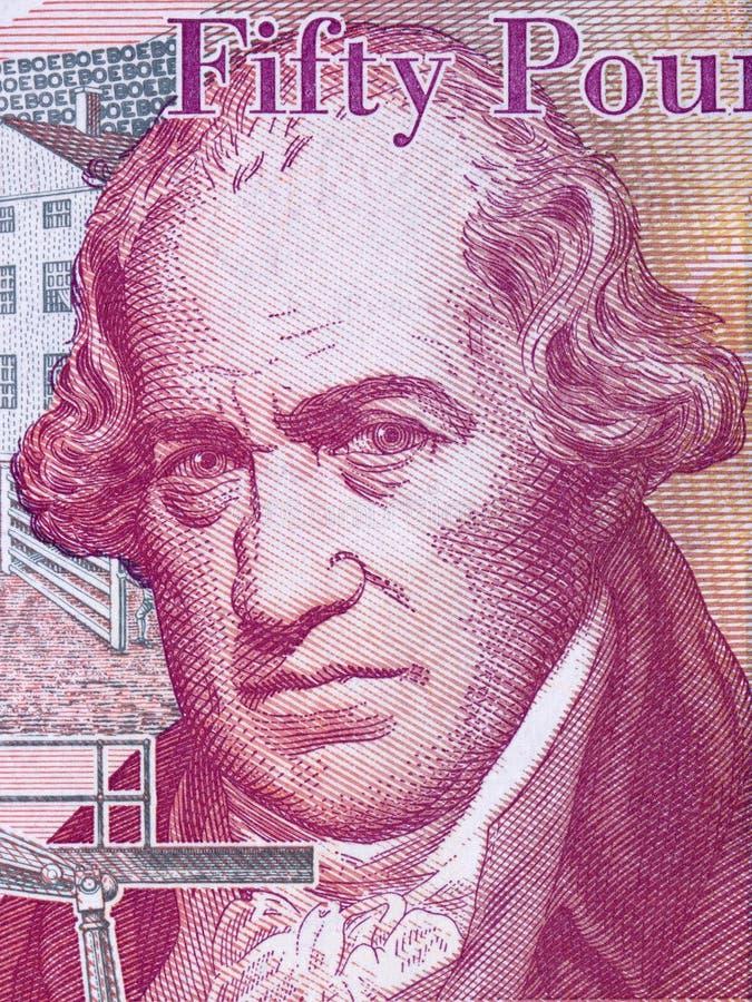 Portrait de James Watt image libre de droits