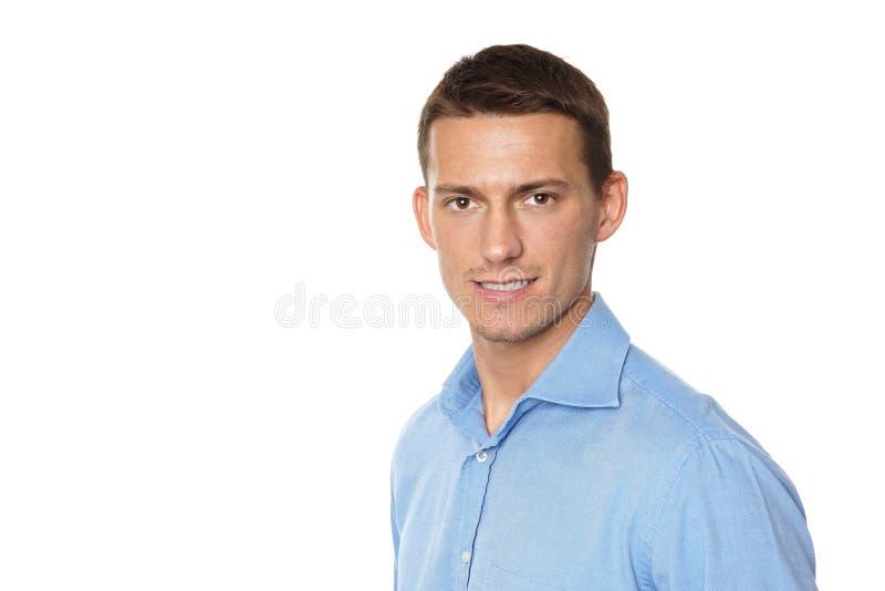 Portrait de jeune homme d'affaires photographie stock libre de droits