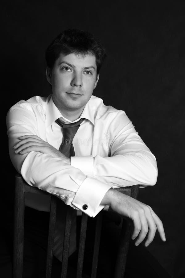 Portrait de l'homme photographie stock libre de droits