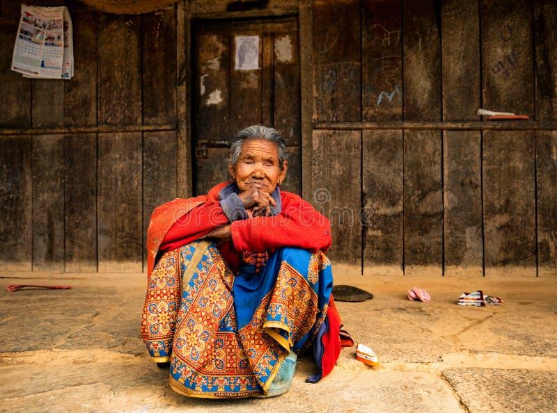Portrait de la femme âgée photos stock