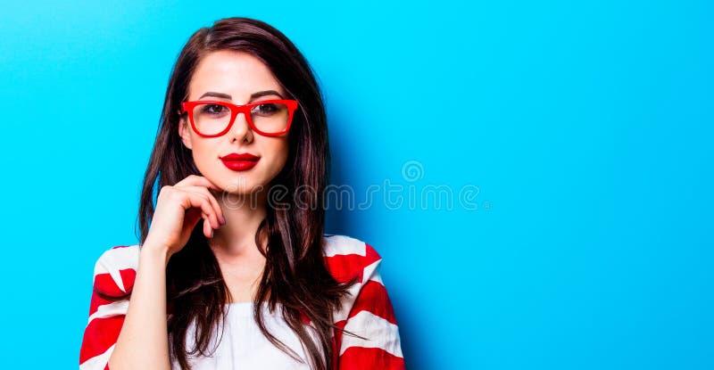 Portrait de la jeune femme photo libre de droits