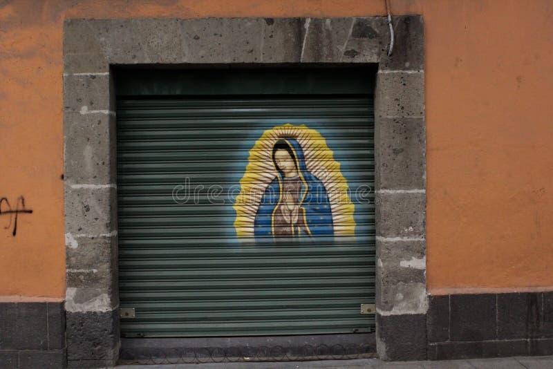 Portrait de La Lupita au Mexique photographie stock