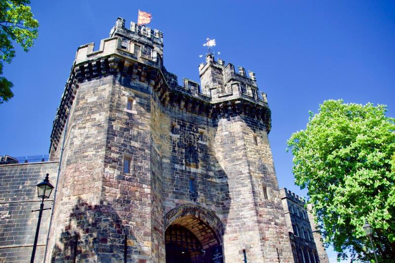Portrait de loge du portier de château de Lancaster image stock