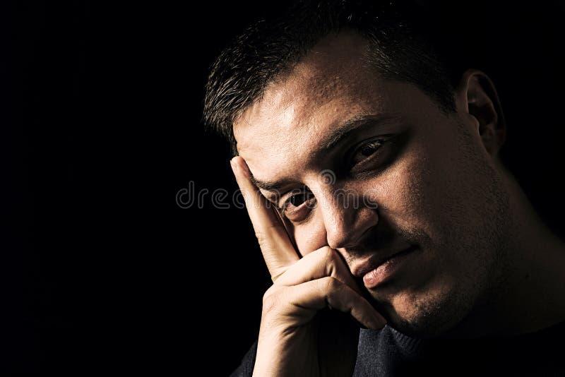 Portrait de mâle beau photos stock