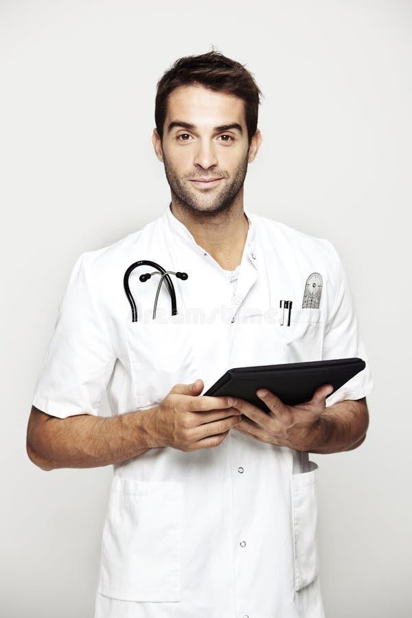 Portrait de mi docteur adulte photo libre de droits