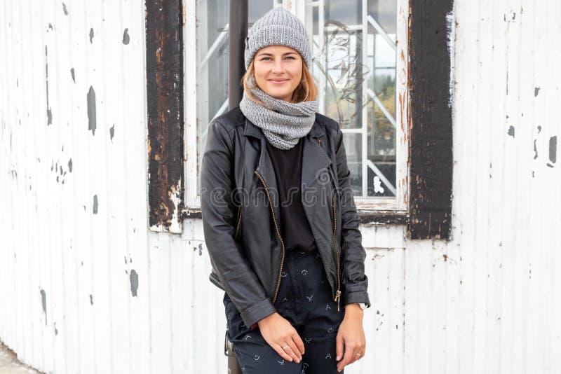 Portrait de mode de vie de mode photographie stock
