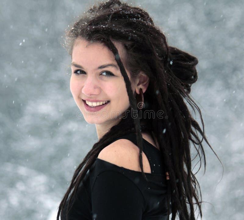 Portrait de neige photos stock