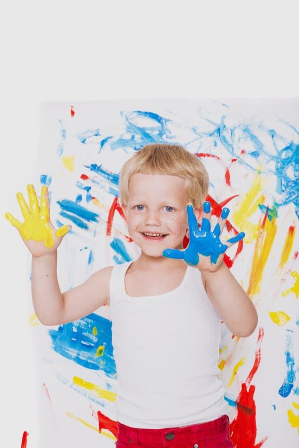 Download Portrait De Peintre Malpropre D'enfant école Précours Éducation Créativité Image stock - Image du enfance, modifié: 56486451