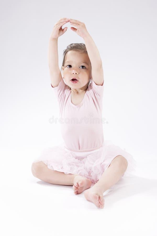 Portrait de petite fille caucasienne mignonne images libres de droits