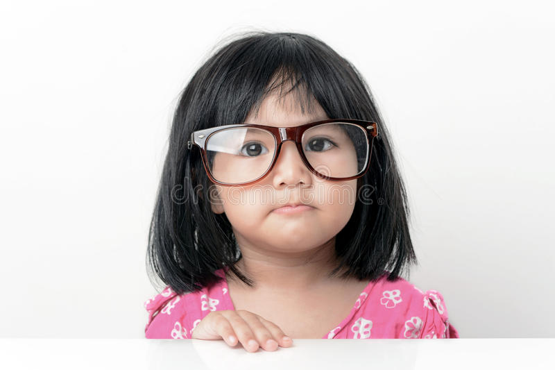 Portrait de petite fille de ballot photos stock