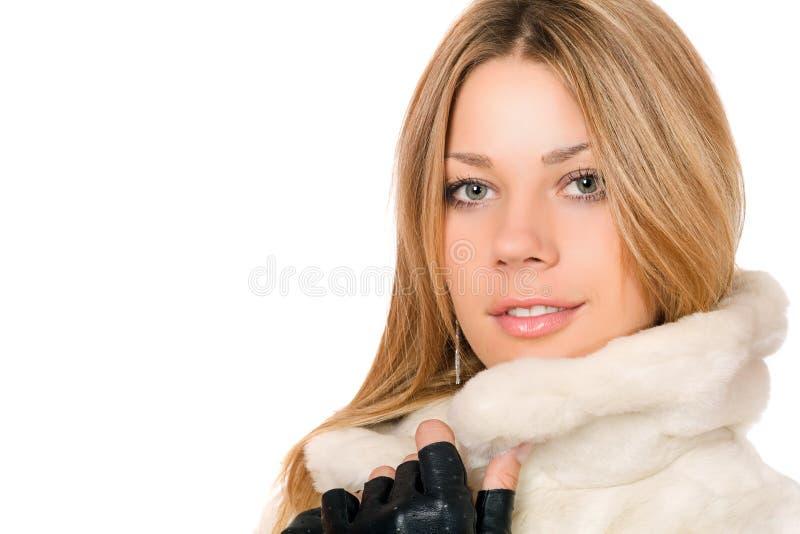 Portrait de plan rapproché de gentille fille photos libres de droits