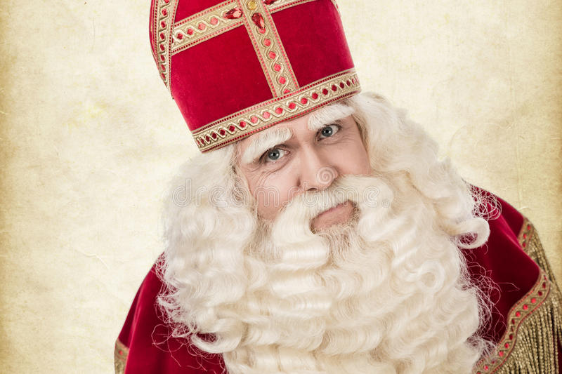 Portrait de Saint-Nicolas images stock