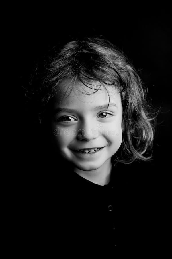 portrait an de studio du garçon 5 images stock