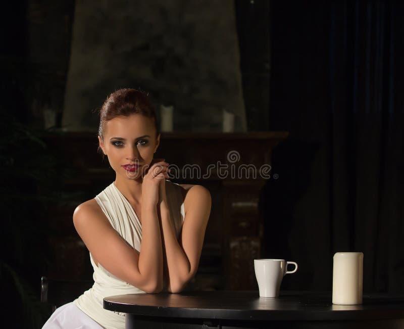 Portrait de Top Model photo stock