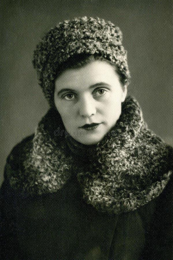 Portrait de vintage. photos libres de droits