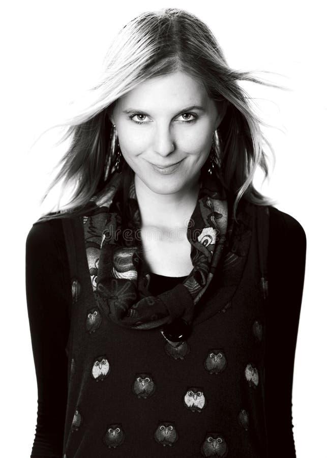 Portrait de visage de femme de beauté photos libres de droits